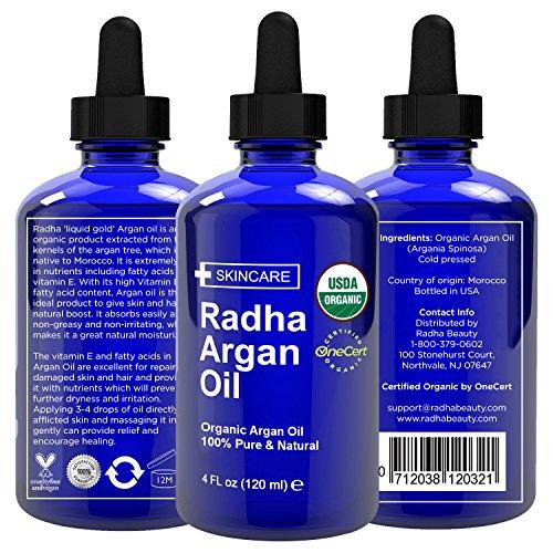 Argan oil organic cold pressed