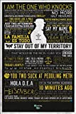 Breaking Bad Typographic Maxi Poster