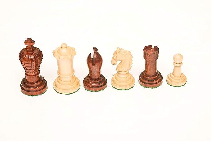 143 Bud Rosewood & Boxwood 3.00 Chess Set