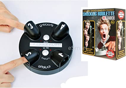 Amazon Com Shocking Roulette Game Electric Liar Light Shock Game Reloaded Lucky Party Game Toys Games