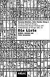 Die Liste. Ordnungen von Dingen und Menschen in Ägypten (Kaleidogramme)