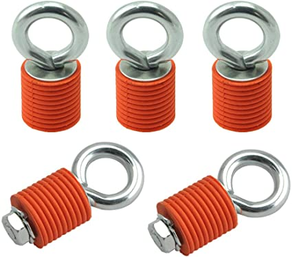 4 Pack Lock /& Ride ATV UTV Durable Tie Down Anchors Compatible for Polaris RZR 900 1000 XP Turbo Sportsman Ace-DONT FIT RANGER