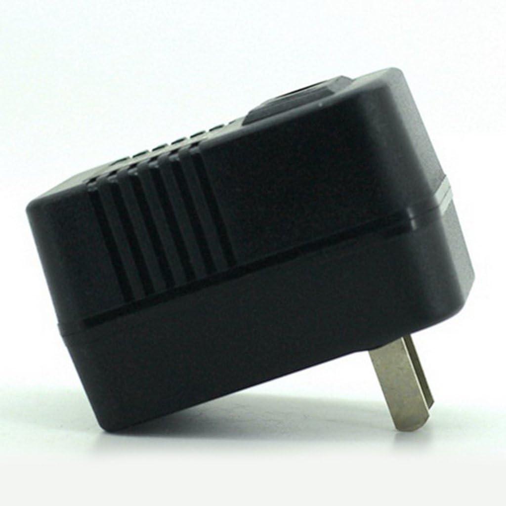 Negro-110Volts a 220V MagiDeal Transformador de Voltaje de Viaje Convertidor de Productos El/éctricos Accesorios