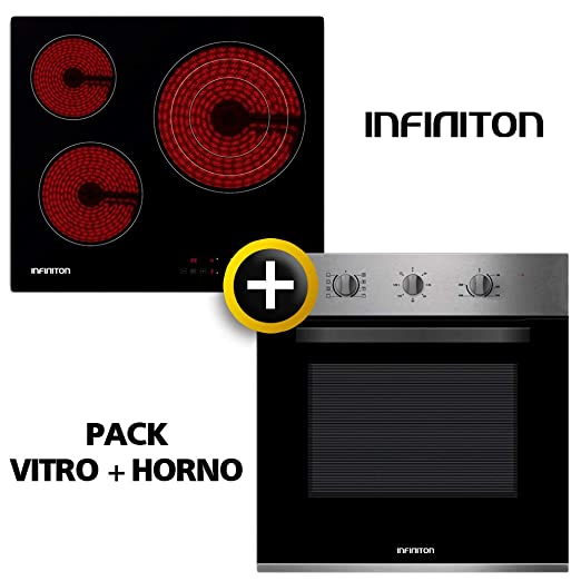 Pack Horno + VITROCERAMICA INFINITON (Placa Encimera mas ...