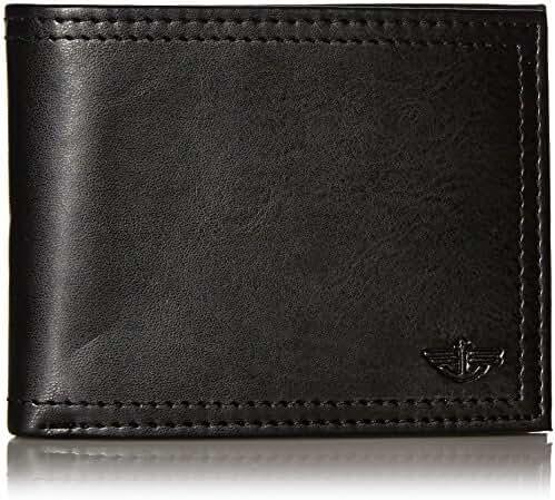 Dockers Men's Extra Capacity Leather Bifold Wallet