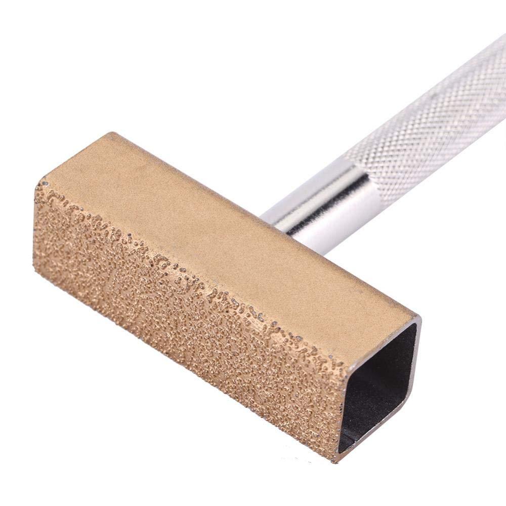 Dresseur de pierre de diamant rectangle Outil de pansement de surface de meule orrecteur de roue de disque de meulage de diamant enduit Dressing Bench Grinder