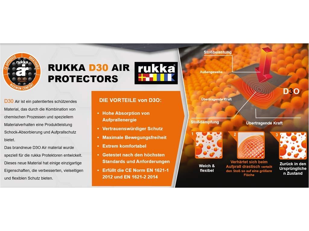 Rukka D3O Air Protektoren Set f/ür Hosen