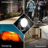 LED Lantern, TaoTronics Rechargeable Camping Lantern, 400 Lumens Portable Emergency Lights, Must Have Earthquake Survival Kit, Full IP68 Waterproof, Touch Lamp with Aluminum Alloy Body