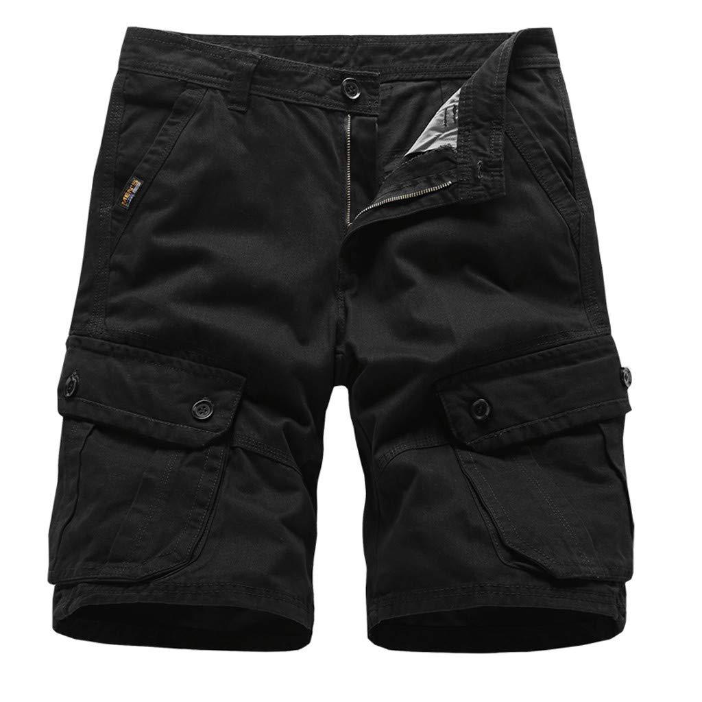 Donci Pants Men's Carrier Cargo Short Black by Donci Pants