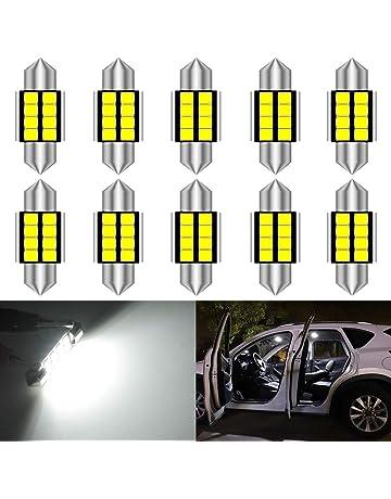 Amazon.es: Bombillas de interiores: Coche y moto: Bombillas ...