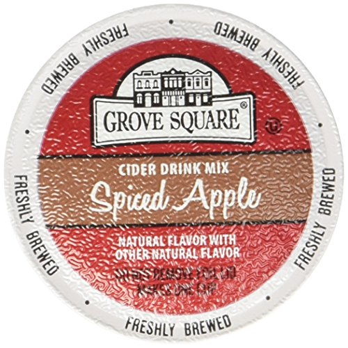 (GROVE SQUARE SPICED APPLE CIDER 96 K CUPS by Grove Square)