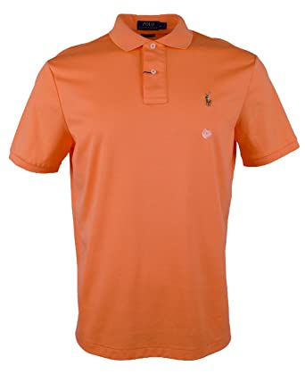 3c18eccffe70 Amazon.com  Polo Ralph Lauren Men s Big and Tall Short Sleeve Pima  Soft-Touch Polo Shirt  Clothing