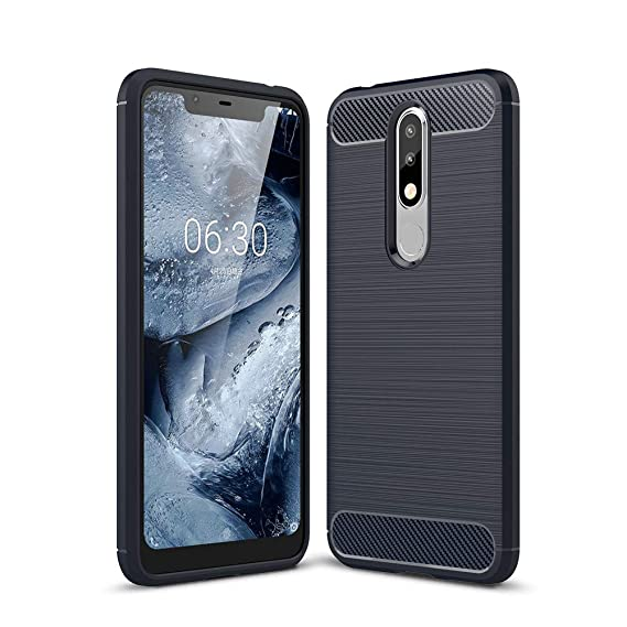 official photos fb243 e253c Amazon.com: Nokia 5.1 Plus (Nokia X5) Case, kakalong TPU Cover ...