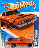 2011 Hot Wheels Muscle Mania '11 - #4/10 '68 Orange EL CAMINO Collectible 1:64 Scale Car 104/244