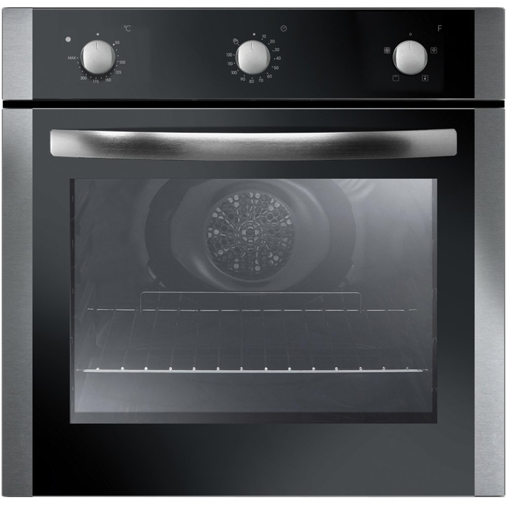 Single Fan Oven Part - 46: Iberna By Baumatic IBOF600X | Unbranded 60cm Built-in Electric, Single Fan  Oven In Stainless Steel: Amazon.co.uk: Large Appliances