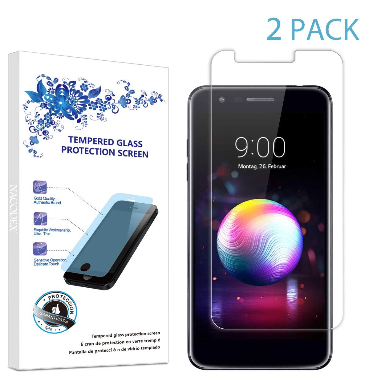 Amazon.com: Protector de pantalla de vidrio templado para LG ...