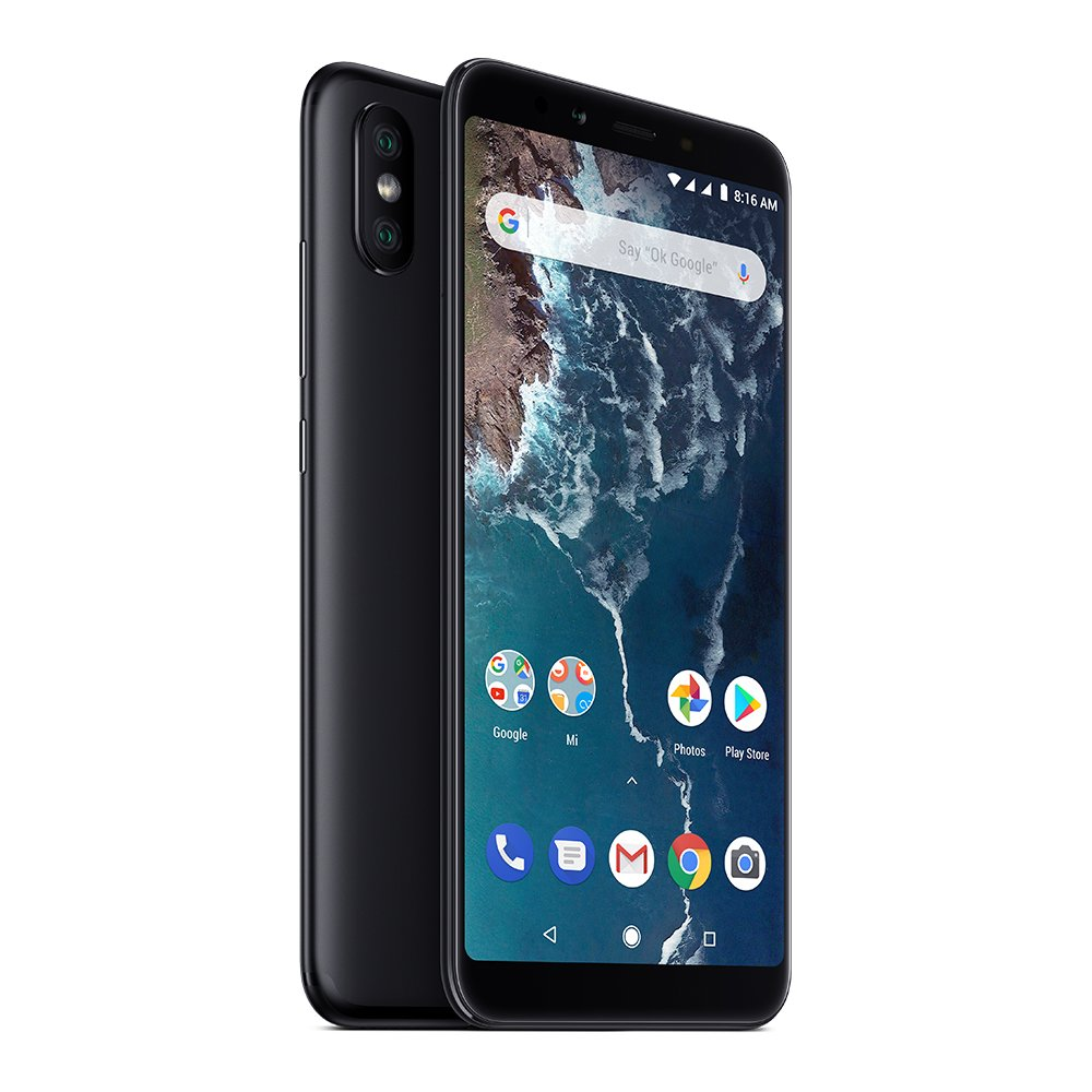 Xiaomi Mi A2 64GB + 4GB RAM, Dual Camera, LTE AndroidOne Smartphone - International Global Version (Black) by Xiaomi (Image #5)