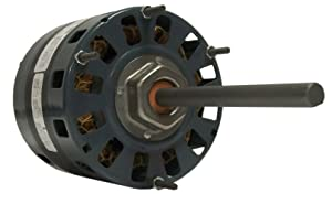Fasco D150 5.0-Inch Direct Drive Blower Motor, 1/4 HP, 115 Volts, 1050 RPM, 3 Speed, 4.1 Amps, OAO Enclosure, Reversible Rotation, Sleeve Bearing