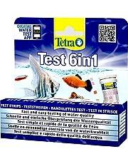 Tetra Test 6in1, Test dell'Acqua per l'Acquario, Controllo Facile e Veloce della Qualità dell'Acqua, 25 Strisce