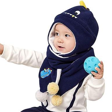 DORRISO Cappello Sciarpe Set Bambino Primavera Autunno Invernale Carina  Piccolo Cartone Animato Cappelli Berretto Bambini Infantili del Cappello   Amazon.it  ... a9689ba0ef8b