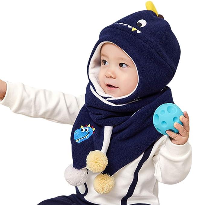 DORRISO Cappello Sciarpe Set Bambino Primavera Autunno Invernale Carina  Piccolo Cartone Animato Cappelli Berretto Bambini Infantili del Cappello   Amazon.it  ... ed3951a44a0d