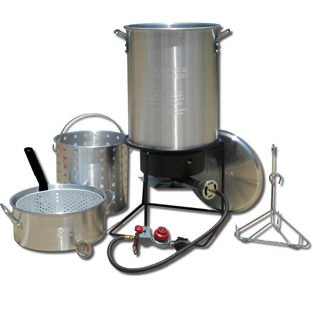 King Kooker TWO-POT FRYING AND BOILING PACKAGE