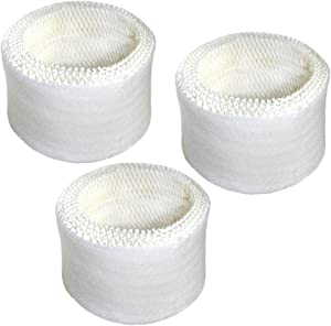 HQRP Filter 3-Pack Works with Honeywell HCM-600 Series HCM-630 HCM-631 HCM-632 HCM-635 HCM-645 HCM-646 HCM-650 QuietCare Humidifier Plus Coaster