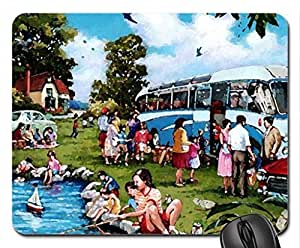 By a nice day... Mouse Pad, Mousepad (10.2 x 8.3 x 0.12 inches)