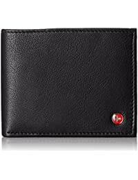 Mens Leather Flipout ID Wallet Bifold Trifold Hybrid