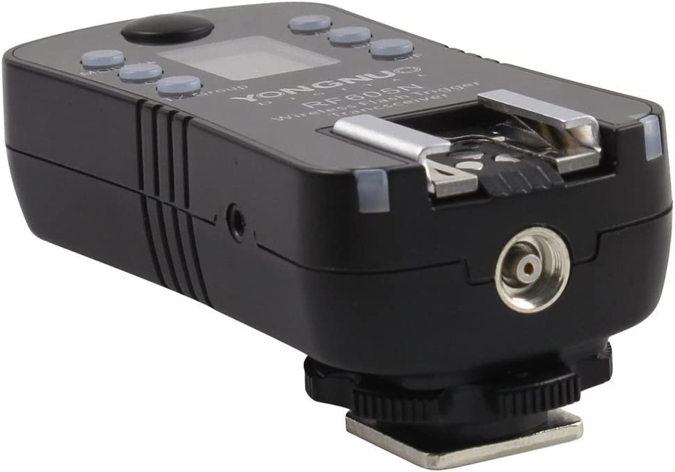 YONGNUO RF605C RF605 RF-605 Flash Trigger Strobe Trigger with LCD for Canon Rebel 300D//350D//400D//450D//500D//550D//1000D Series