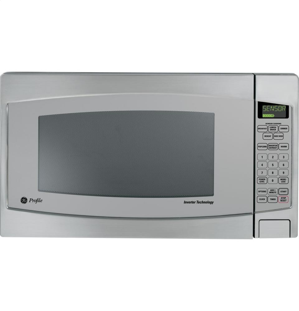 Profile 2.2 Cu. . Countertop Microwave W Child Lockout Extra Large