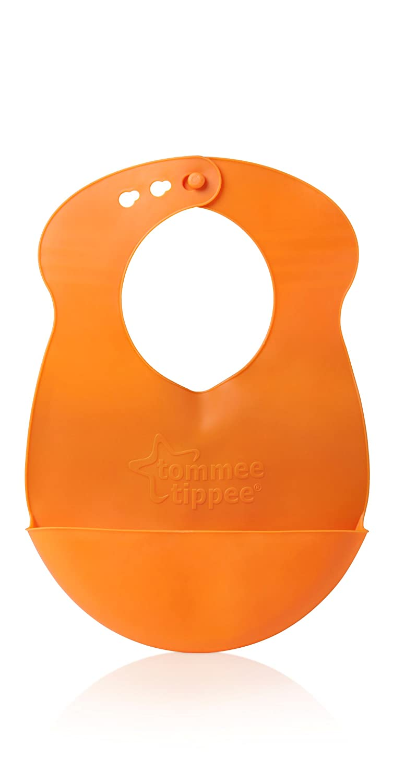 color naranja Tommee Tippee Explora 44605992 Babero de pl/ástico
