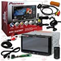 "2014 Pioneer 7"" Double DIN Touchscreen AM/FM DVD MP3 WMA CD Player Bluetooth + Remote with FREE JDM 170° Rear View Back-up Camera"