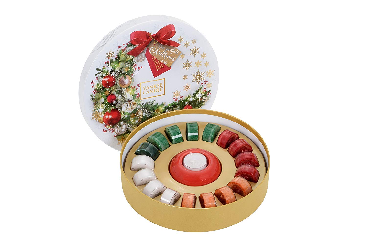 Yankee Candle the Perfect Christmas-18 Tealight Delight, Gift ...