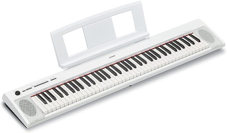 Yamaha NP12 61-Key Lightweight Portable Keyboard, Black ...
