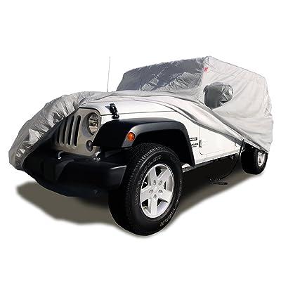 CarsCover Custom Fit 2004-2020 Jeep Wrangler Unlimited JK JL 4 Door Sport/Sahara/Rubicon SUV Wagon Car Cover Heavy Duty All Weather Ultrashield : Automotive