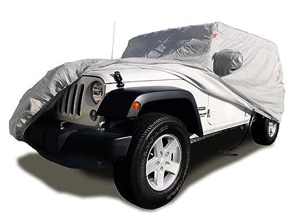 Amazon Com Carscover Custom Fit 2004 2019 Jeep Wrangler Unlimited