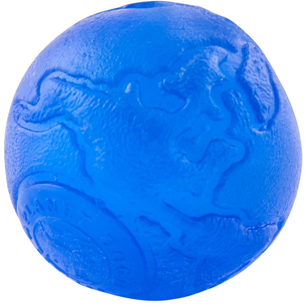Planet Dog Orbee Tuff Orbee Ball Spielzeug für Hunde Small ca. 5,5 cm Royal Blau