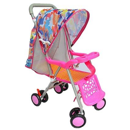 AERTYUIOG Carro De Bebé Carrito para bebés/Bamboo Woven Baby Trolley ...
