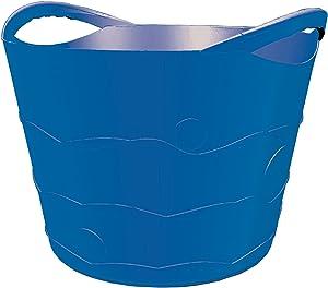 TuffTote Multi-Use Bucket, Blueberry, 7 gal