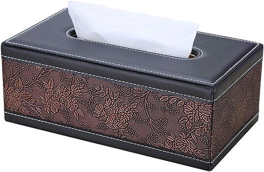 Tisse Box Holder Triangle Folded Shape Tabletop Decorative Tissue Napkin Box