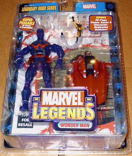 Marvel Legends - Legendary Rider Series - Wonder Man Action Figure 2005