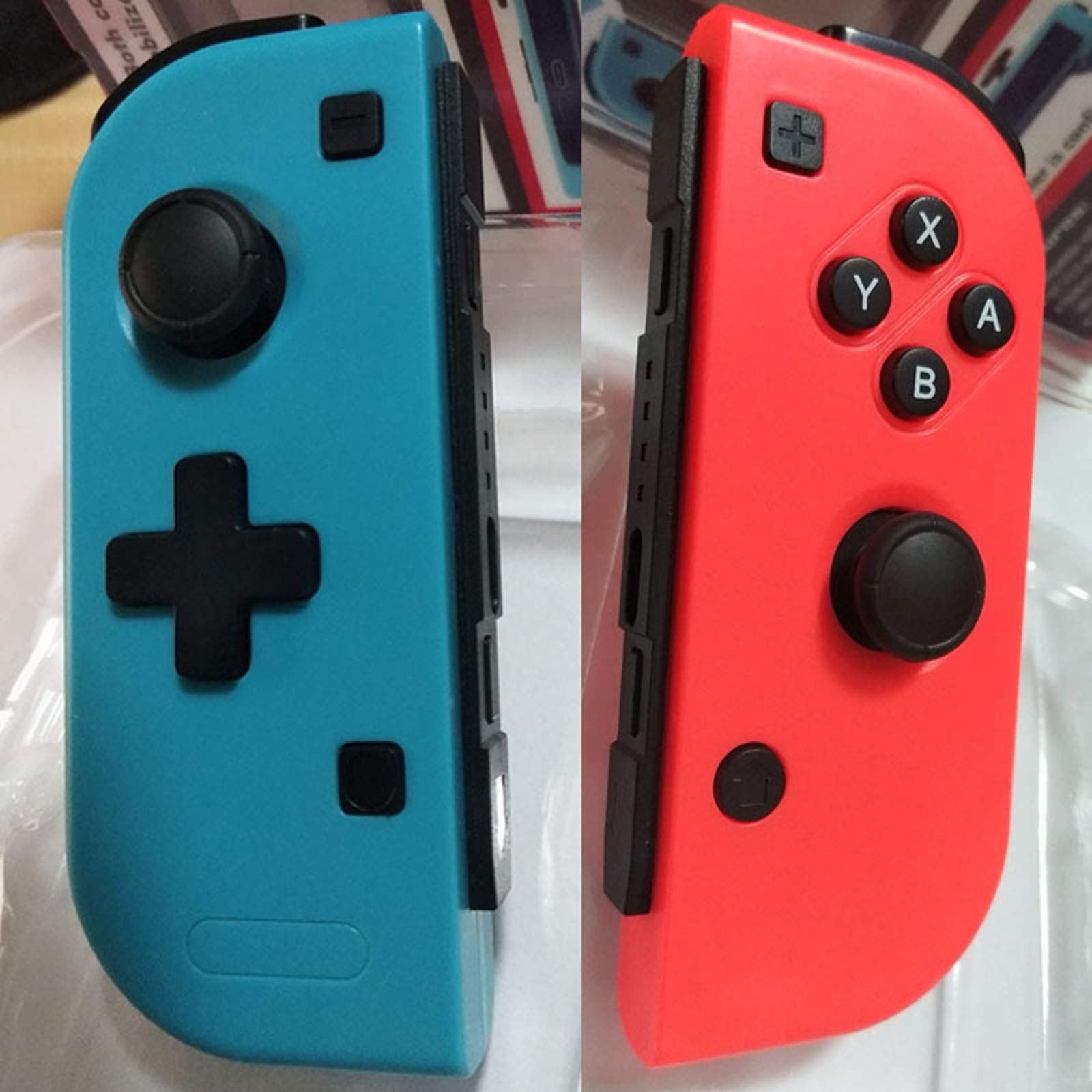 XBERSTAR Wireless Game Controller Left Right Gamepad Joystick for Nintendo Switch Console by XBERSTAR (Image #2)
