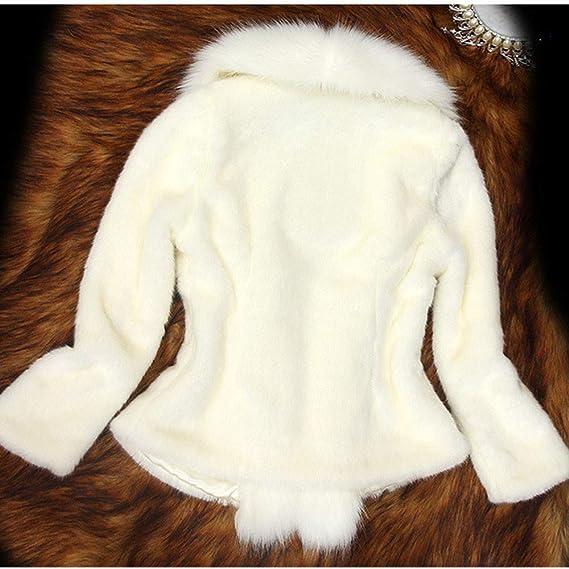 ❤️Jonerytime❤️Women Faux Fur Coat Elegant Thick Warm Outerwear Fake Fur Jacket at Amazon Womens Clothing store: