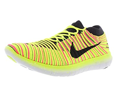 timeless design b7dcb 7158e Nike WMNS Free RN Motion FLYKNIT OC Gelb Pink (38)