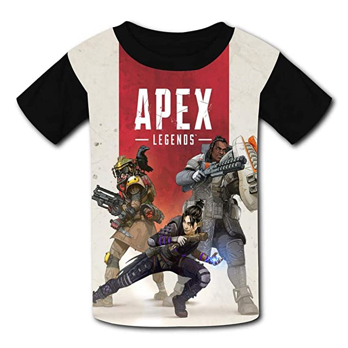 bettydom Novelty T-Shirts Apex Legends Game Topic Shirt for Boys