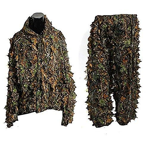 Balai Ghillie Woodland Camouflage Clothing