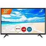 "Smart TV LED HD 32"" Panasonic Media Player com Função Mirroring 2 HDMI 2 USB TC-32FS500B"