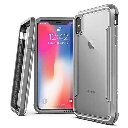 c7d43b746 Capa Anti Impacto iPhone X Original, X-Doria, XD809-01, Prata ...