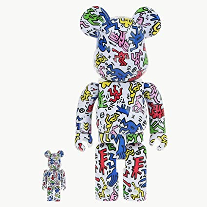 d1e2d653 Image Unavailable. Image not available for. Color: KINKIROBOT 400% + 100%  BEARBRICK ...